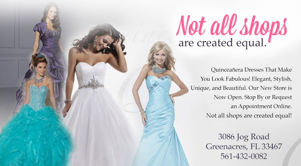Quinceanera Dress Dresses Gowns Sweet 16 Bat Mitzvah Florida Greenacres West Palm Beach Lake Worth