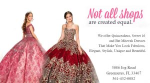 We offer Quinceañera, Sweet 16 and Bat Mitzvah Dresses That Make You Look Fabulous, Elegant, Stylish, Unique and Beautiful.